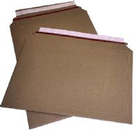 Strong Corrugated Board Envelopes - Rigid Mailer - 4 Sizes Available - Boxes of 100